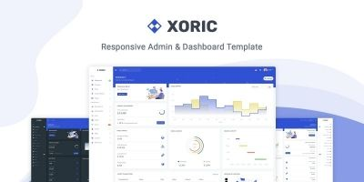 Xoric - Admin And Dashboard Template