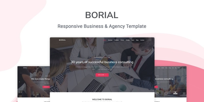 Borial - Business And Agency Template