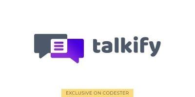 Talkify Logo Template