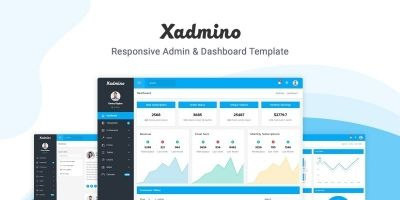 Xadmino - Admin And Dashboard Template