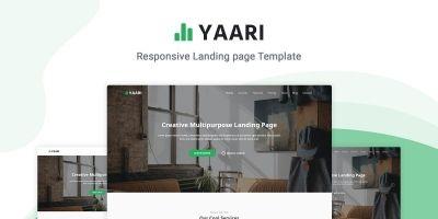 Yaari - Landing Page Template