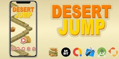 Desert Jump- Buildbox Template