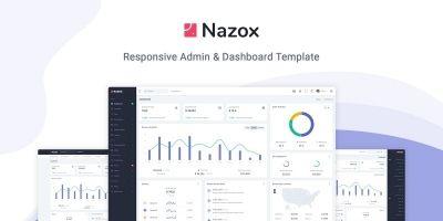 Nazox - Admin And Dashboard Template
