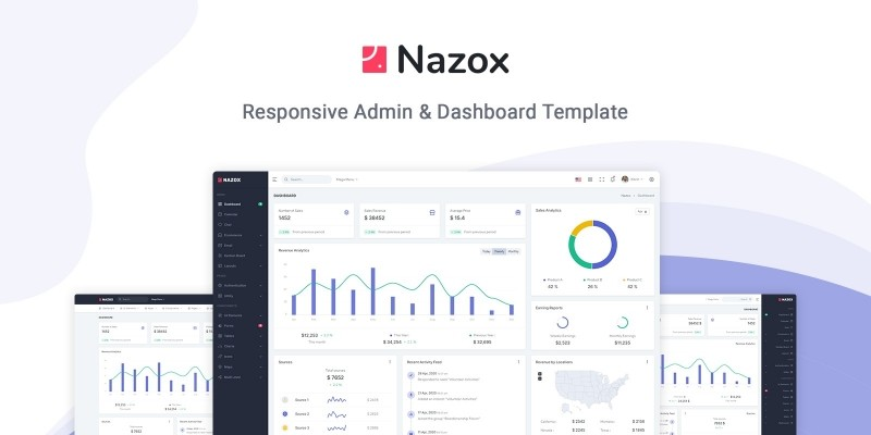 Nazox - Admin And Dashboard Template