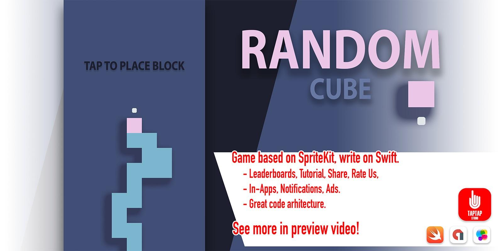Random Cube - iOS Source Code