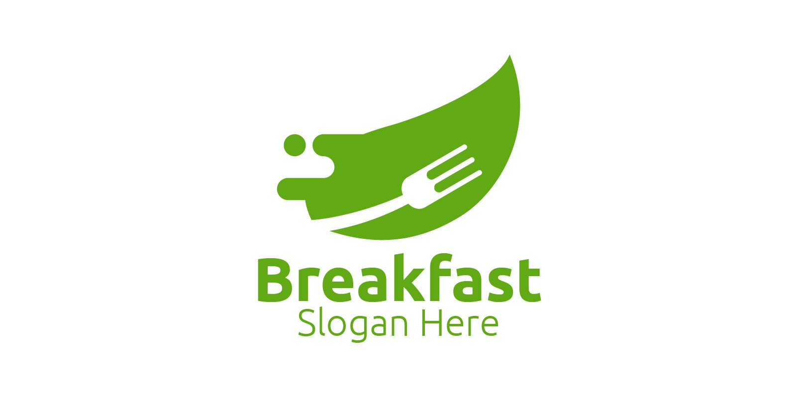 Breakfast Fast Food Delivery Logo
