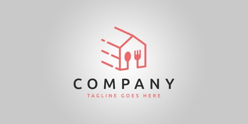 Food Delivery Logo Template