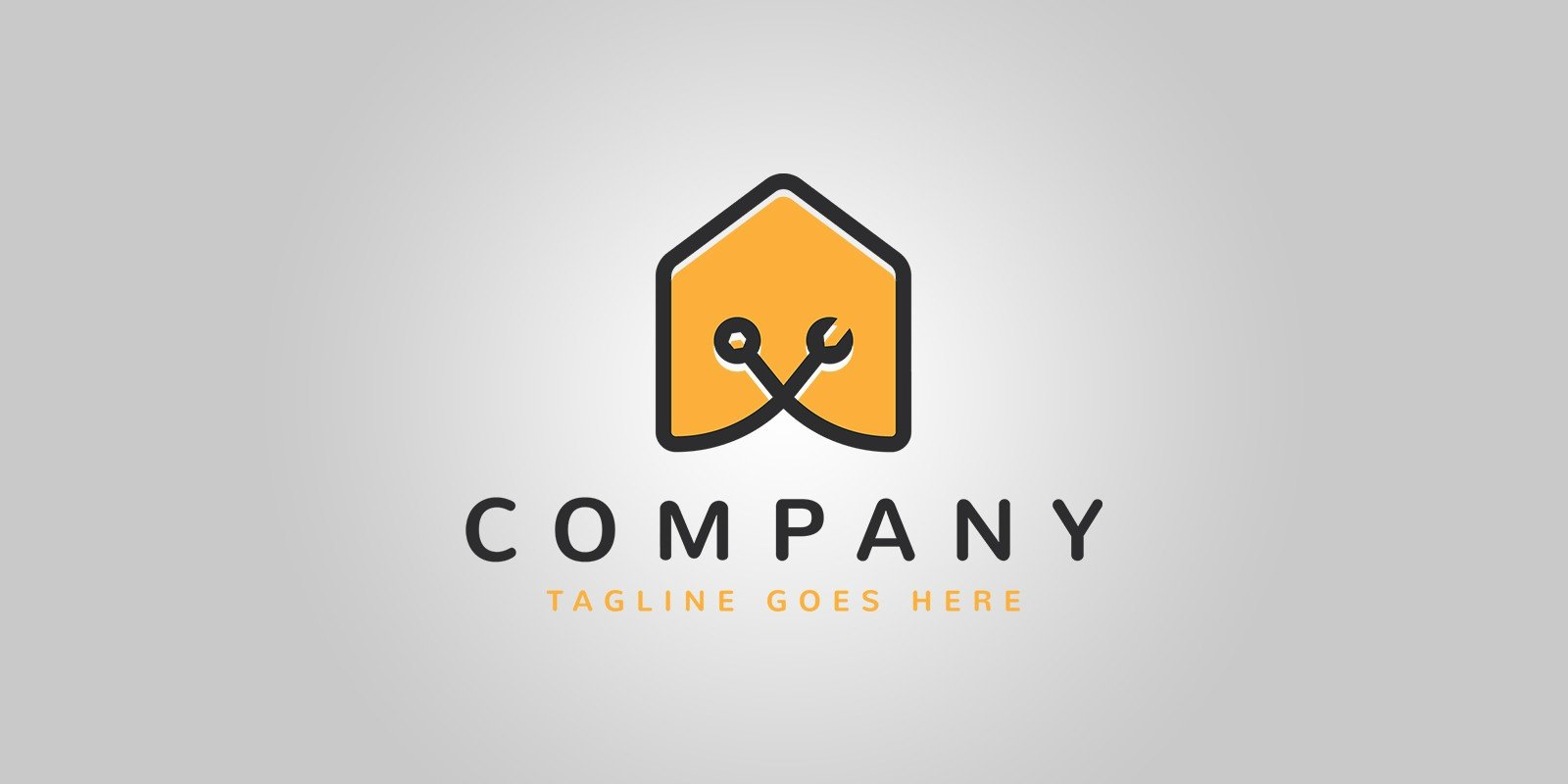 House Repair Logo Template