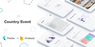 Country Event Flutter Complete App Template
