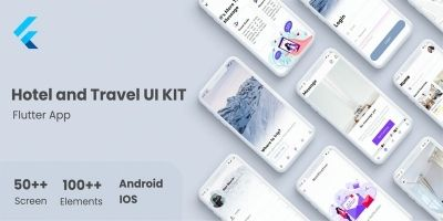 Hotel And Travel Flutter UI Kit