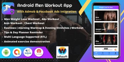 Android Men Workout at Home - Men Fitness