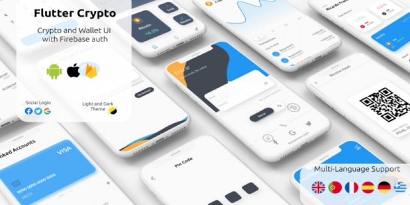 Flutter Crypto And Wallet Template With Firebase