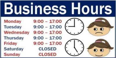 BusinessHours - Dynamic Business Hours JavaScript