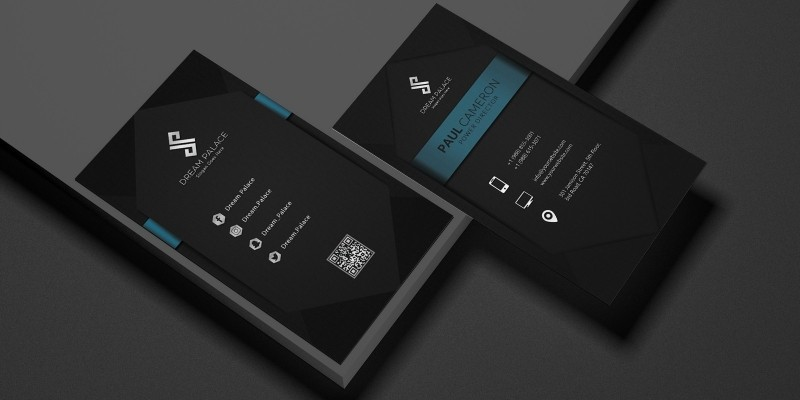High-End Business Card Template