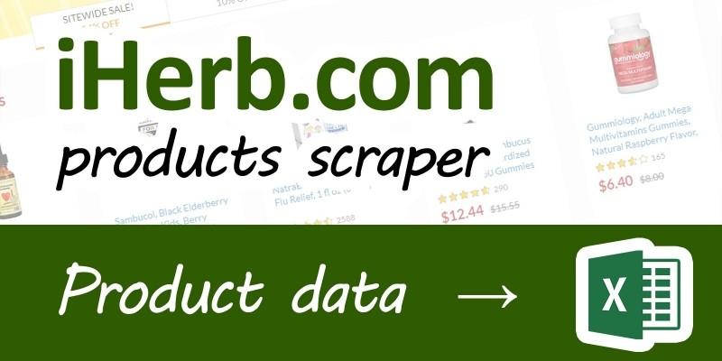 iHerb Scraper .NET