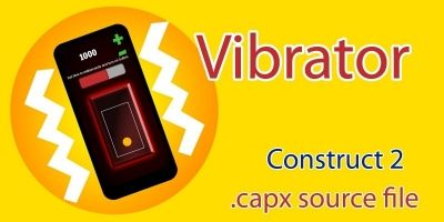 Vibrator Construct 2 Template Admob Ads