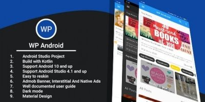 WP Android App For WordPress Sites