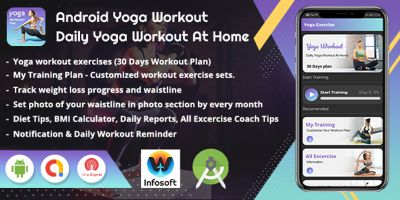 Android Yoga Workout App Source Code
