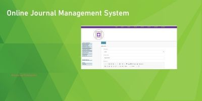 Online Journal Management System In PHP MySQL Code