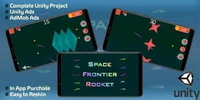Space Frontier Rocket - Unity Source Code