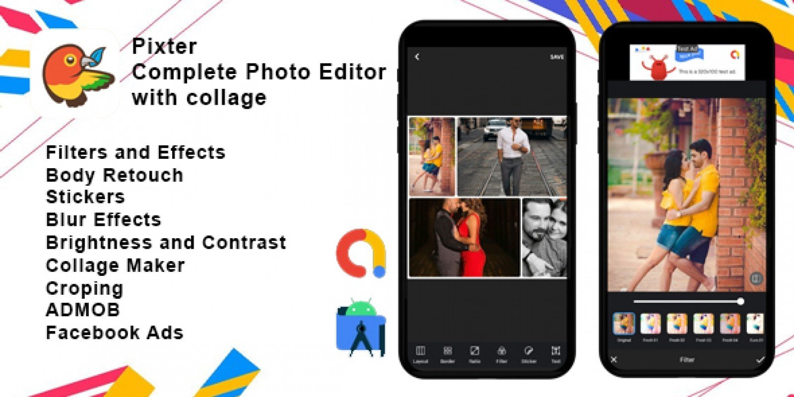 Pixter - Photo Editor Android Source Code