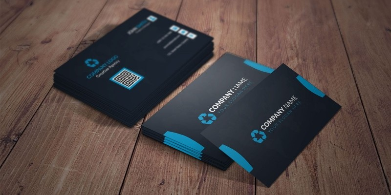 Clean And Simple Business Card Template