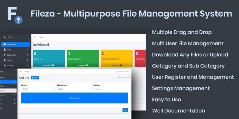 Fileza - Multipurpose File Management System