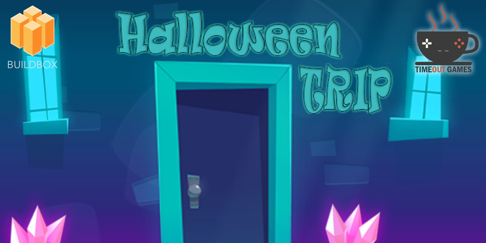 Halloween Trip - Full Buildbox Game