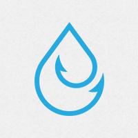 Drop Hook Logo Template