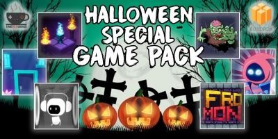 6 Halloween Buildbox Games