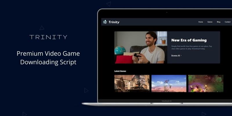 Trinity - Video Game Downloading Script