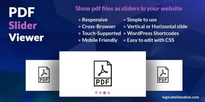 PDF Slider Viewer - WordPress Plugin