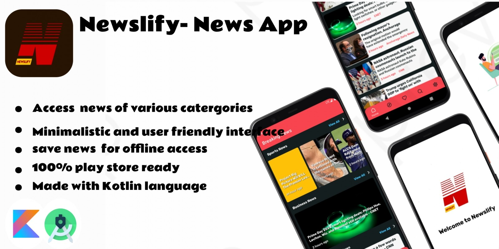 NewsLify - Android News App Source Code
