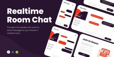 Realtime Room Chat Socket.io Node.js