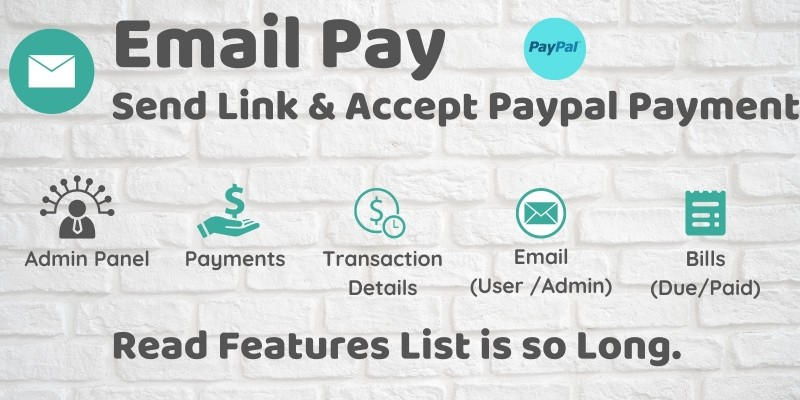 EmailPay - Send Link And Accept Paypal Payment