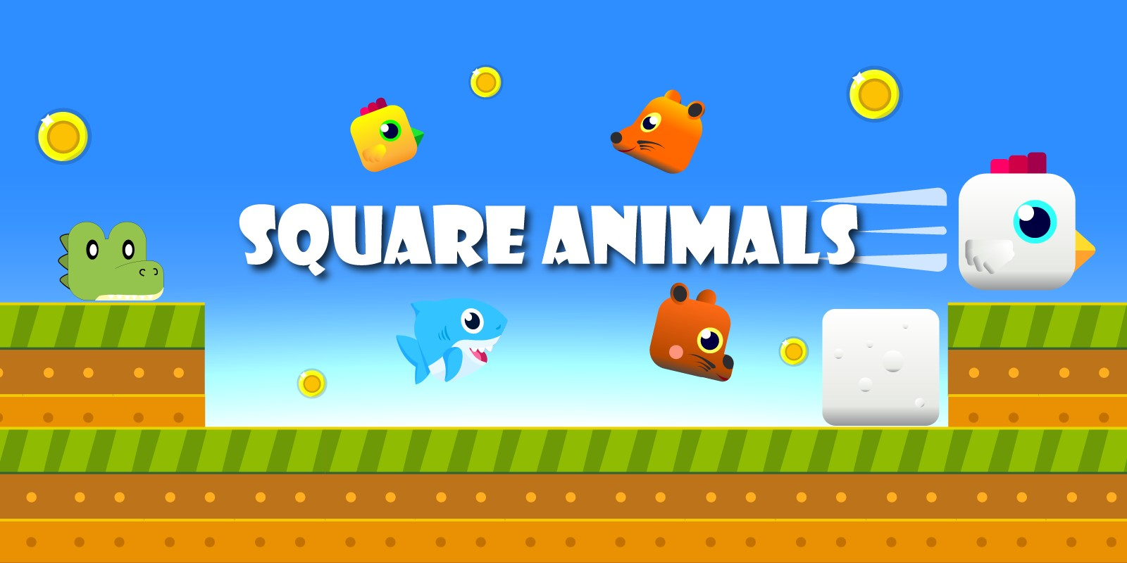 Square Animals - Unity Complete Project