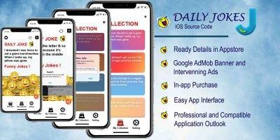 Daily Jokes - iOS Source Code