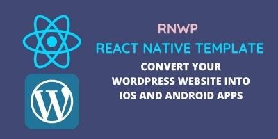 RNWP React Native Template For WordPress Sites