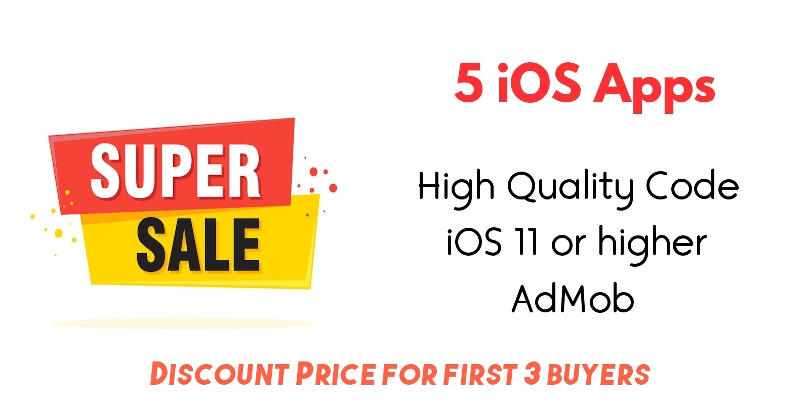 5 iOS Apps Source Code Bundle