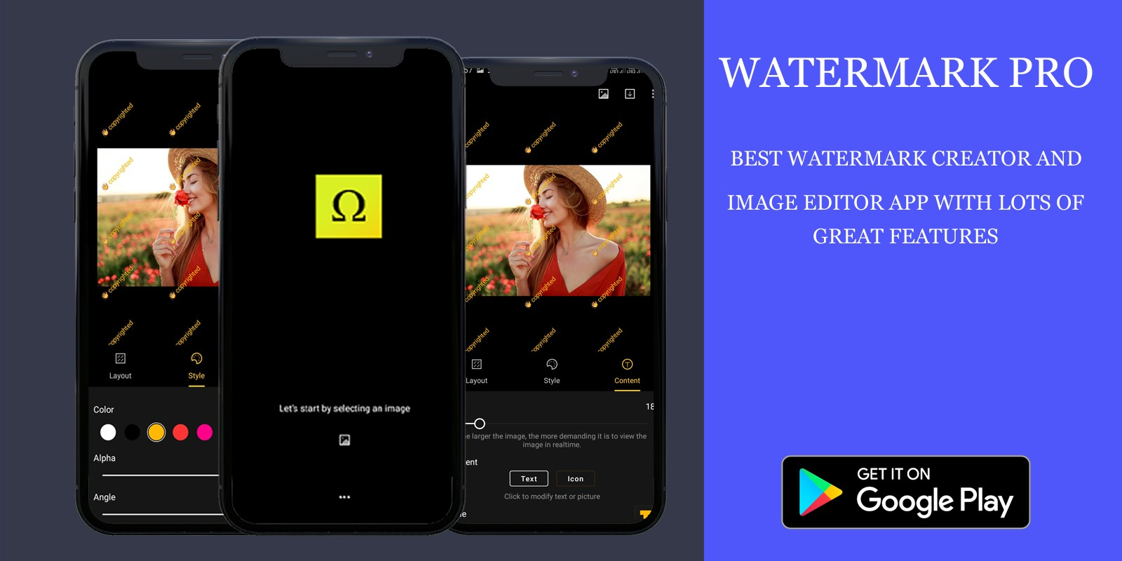 Image Watermark Creator - Android App Source Code