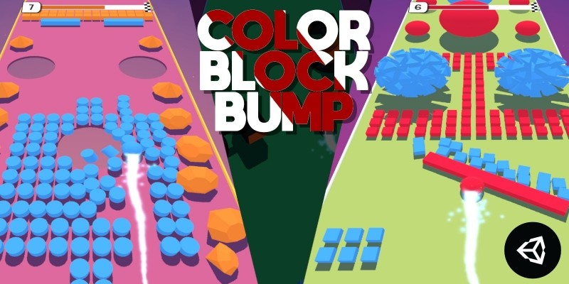 Color Block Bump - Unity Project With Admob