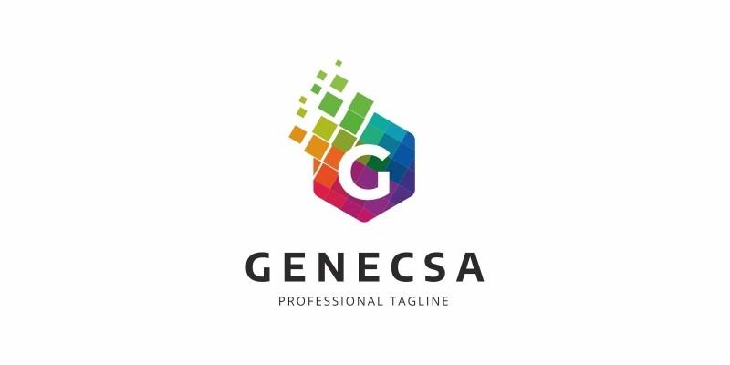 G Letter Colorful Logo