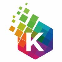 K Letter Colorful Logo