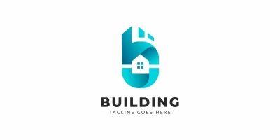 Building B Letter Logo