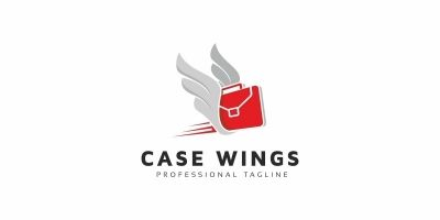 Case Wings Logo