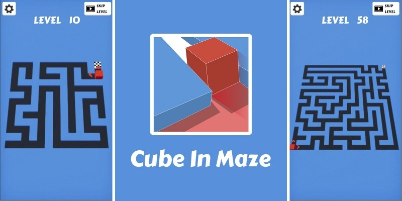 Cube In Maze - Unity Code Source