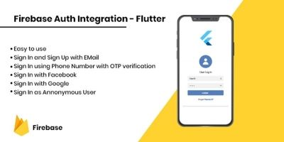 Firebase Auth Integration - Flutter