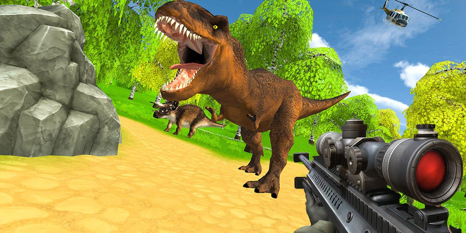 Dinosaur Hunting Game - Unity 3D Game Source Code