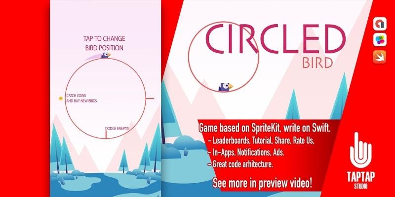Circled Bird - iOS Source Code