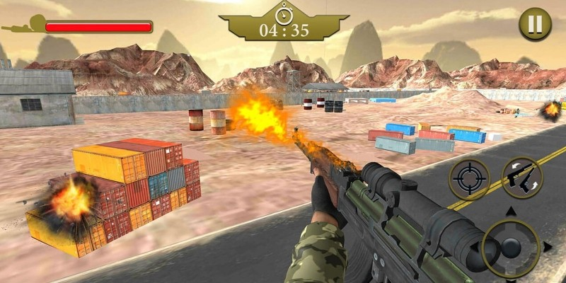 Frontline Army Commando - Unity 3D Game